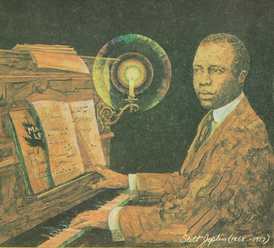 scott joplin An authentic player piano fills the air with scott joplin melodies as you walk  through the modest flat on delmar boulevard that joplin and his wife belle lived  in.