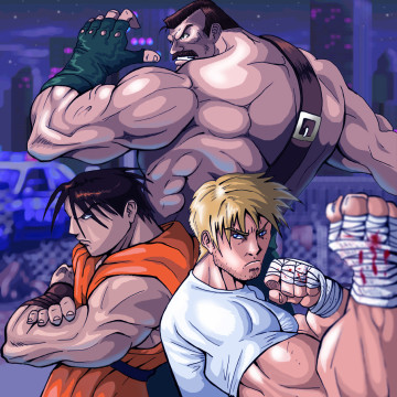 Final_Fight_Heroes_by_The_Switcher